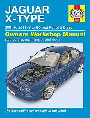 Haynes Workshop Repair Manual For Jaguar X-Type (01-10) V To 60 Petrol & Diesel