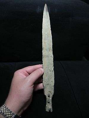 Zurqieh -  Over 3000 Years Old Bronze Short Sword- 1200 B.c , 14 ""