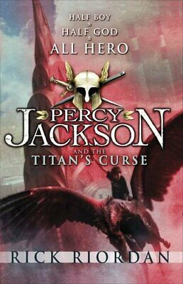 Percy Jackson and the Titan's Curse by Riordan, Rick Paperback Book