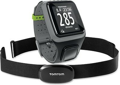 TomTom RUNNER GPS HRM Watch + Heart Rate Monitor Mens/Ladies BRAND NEW +WARRANTY
