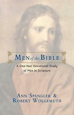 Men of the Bible by Ann Spangler Paperback Book (English)