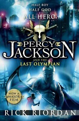 Percy Jackson and the Last Olympian (Book 5) by Riordan, Rick Paperback Book The