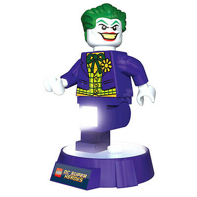 Official DC Comics Batman The Joker Lego White Night Light Torch - New LED Boxed
