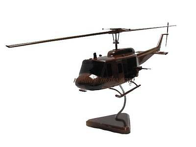 Bell UH-1 Huey Vietnam Iroquois Helicopter Door Guns Wood Wooden Model with Flaw