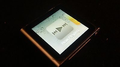 Apple iPod® Nano 6th Generation 8GB A1366 MP3 Player USED