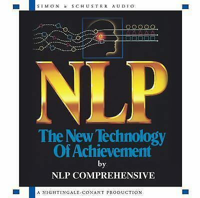 NEW 2 CD NLP : The New Technology of Achievement (Nightingale Conant)