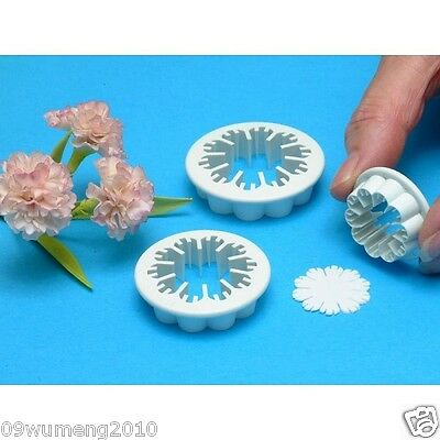 [cake15] 3X calyx Flower Cake Decorating cutters Sugar craft Modelling Tools