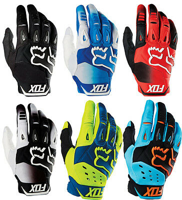 Fox Racing Mens Pawtector Race MX Motocross Gloves CLOSEOUT