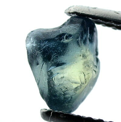 █50%OFF█ TOP! NATURAL UNHEATED 1.43ct FACET ROUGH BLUE SAPPHIRE MADAGASCAR VS