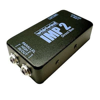 Whirlwind IMP 2 Passive Single Channel Direct Box for PA or Studio #IM2
