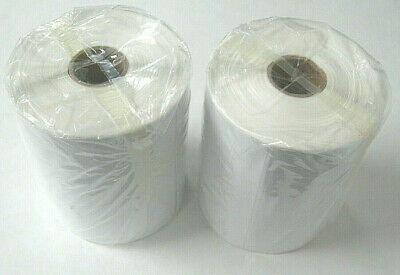 "2 Rolls, 500 Thermal Printer Shipping Labels 4"" x 6""  Zebra 2844 Eltron Direct"