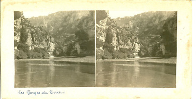 STEREO France, Les gorges du Tarn  STEREO France, Les gorges du Tarn  Tirage a