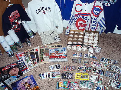 Huge Chicago Cubs Collection-1,075+ Items-916 Autographs-Must See-1950's-Present