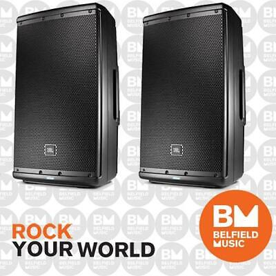 2 x JBL EON 612 Powered Speaker 12 Inch 12'' 1000W EON612 Pair - BNIB - BM