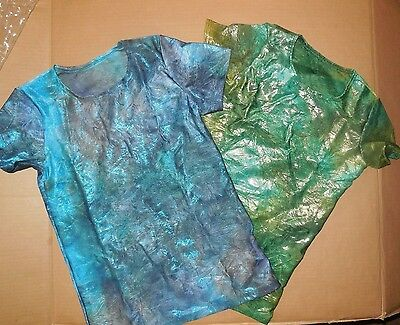 NWT Boys Mens Dance Top Iridescent 2 colors offered t shirt Contemporary