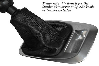 Black Stitching Leather Manual Gear Gaiter Fits Peugeot 3008 5008 09-14
