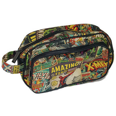 Marvel Comics: Multi Character Wash / Toiletry Bag - New & Official With Tag