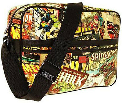Marvel Comics: Multi Character Shoulder Bag / Holdall - New & Official With Tag