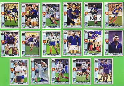 1991  France Rugby Union World Cup Cards