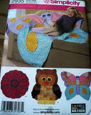 NEW RAG QUILTS by LONGIA MILLER Sewing Pattern UNCUT