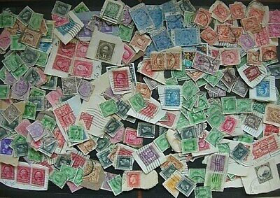 NEW ZEALAND 1910's/20's USED ACCUMULATION ON & OFF PAPER (ID:R30380)
