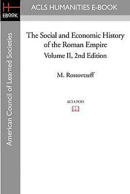 NEW The Social and Economic History of the Roman Empire Volume II 2nd Edition by