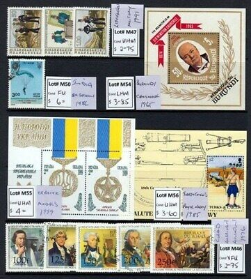 Military Selection Of Sets & Singles (Id:941/d31059)