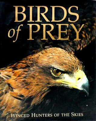 Birds of Prey by Frost, Paul D. Hardback Book The Cheap Fast Free Post