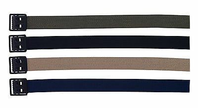 +Rothco Web Belts W/ Blk Open Face Buckle / 44""