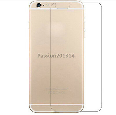"Anti-Shatter 9H Tempered Glass Film Back Protector For iPhone 6 4.7"" Plus 5.5"""