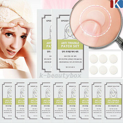 MISSHA Speedy Solution Anti Trouble Patch 12 Patches Korea Cosmetic k-beautybox