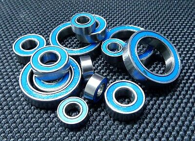 [BLUE] Rubber Ball Bearing Set FOR TRAXXAS STAMPEDE 4X4 / STAMPEDE 4X4 VXL