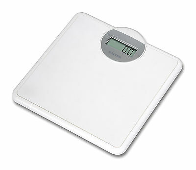 Salter Digital Bathroom Scales - Electronic Weight Scales - White - 9000WH3R NEW