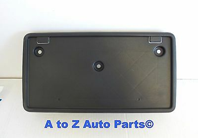 02-04 JEEP LIBERTY FRONT BUMPER LICENSE PLATE BRACKET HOLDER FRAME OEM NEW MOPAR