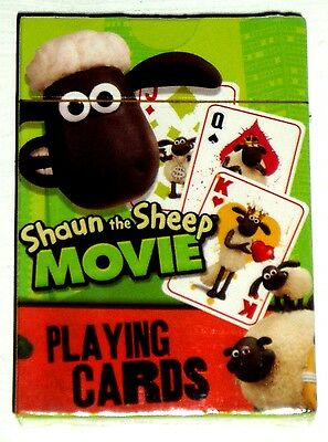 Shaun The Sheep The Movie Playing Cards Genuine Licensed