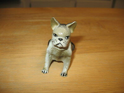 New Ray Novelty 1980'S TOY Figural Rubber BOSTON TERRIER Dog  ~J2-D