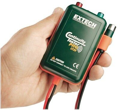 Extech Remote & Local Continuity Tester - check trace wires remotely CT20 CT-20