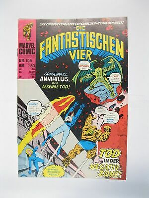 Fantastische Vier Nr. 105   Marvel Williams im Zustand (1)  56636