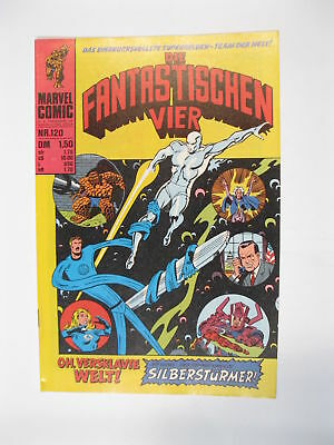 Fantastische Vier Nr. 120   Marvel Williams im Zustand (1-2)  56673