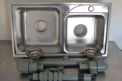 N.Ireland, Highlands, Ireland,NEW Double Stainless Sink For Catering Trailer,Van