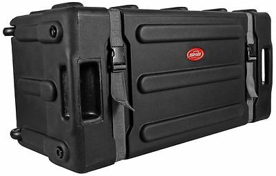 SKB 1SKB-DH3315W Mid-Sized Drum Hardware Case + Pull Out Handle +Built-In Wheels