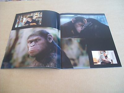 Rise Of Planet Of The Apes Franco Finto Lithgow Program From Japan (16Th Jan)