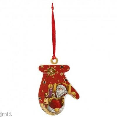 Villeroy & Boch MY CHRISTMAS TREE Ornament: Mitten # 6875