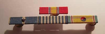 "Korean War ROK 3/8"" Ribbon Bar Rack 1 Battle Star"