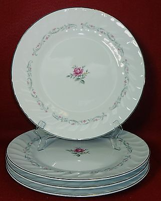 FINE CHINA of JAPAN china ROYAL SWIRL pattern DINNER PLATE 10-1/4""