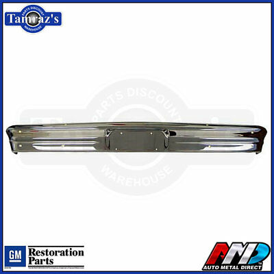 62 63 64 Chevy II Nova Front Bumper Triple Plated  -  NEW AMD STAMPING & CHROME