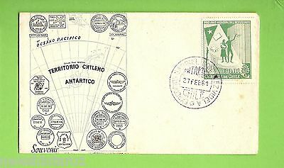 #d150.  1961 Chile First Day Cover, Antarctic Territory
