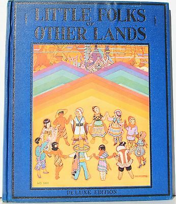 Little Folks of Other Lands by Watty Piper 1943 Illustrated by Lucy & H Holling
