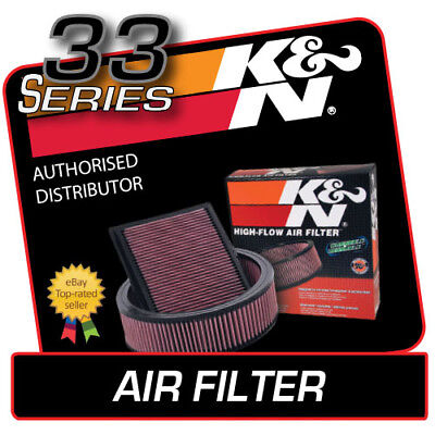 33-2813 K&N AIR FILTER fits PEUGEOT 206 GTI 2.0 Diesel 1999-2007
