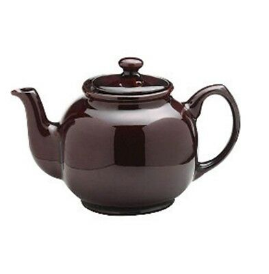Price & Kensington 2 Cup Gloss Teapot 500ML Microwave & Dishwasher Safe - Brown